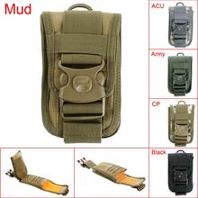 2016 New Outdoor Hunting Mini Multi-function Tactical Military Phone Waist Bag Holder Pouch waterproof Cloth Case Portable