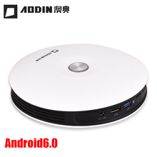 AODIN 3D LED Projector Full HD 1080p Android6.0 BT4.0 DLP Wifi Beamer Mini Video Projector build battery Business presentation