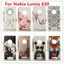 For Nokia Lumia 830 Case /Luxury Crystal Diamond 3D Bling Hard Plastic Cover Case For Nokia Lumia 830 Cell Phone Case