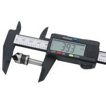Europe Hot sales 6 inch 0- 150 mm Vernier Digital Electronic Caliper Ruler Carbon Fiber Composite tester(China)