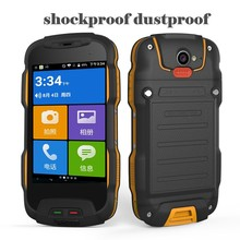 Oinom V9T IP68 MTK6735 Qual core Android5.1 smartphone waterproof 4 inch outdoor 5200mAh 4g lte rugged shockproof mobile phone(China)