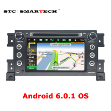 SMARTECH 2 din Android 6.0 OS Car GPS navigation DVD player for Suzki Gread Vitara Car stereo Radio Support 3G WiFi OBD DVR DAB+