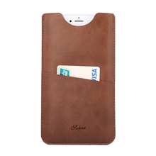 For IPhone 7 Plus Phone Case PU Calfskin Texture Leather Cover for IPhone 7 Plus Card Slots Phone Bag Case Free Shipping(China)