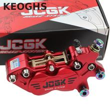 Keoghs Motorbike Modify 40mm Brake Caliper 4 Piston Cnc Aluminum Alloy For Honda Yamaha Kawasaki Suzuki