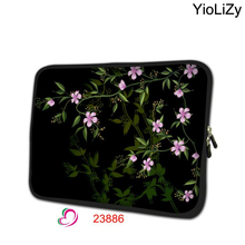 print flower laptop Bag 7.9 mini notebook sleeve Neoprene tablet case 7 tablet protective skin cover for tablet samsung TB-23886