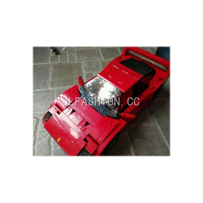 2017 NEW 21004 Creator Ferrarie F40 Sports Car Model Building DIY Blocks Kits Minis Bricks Toys Compatible<br>