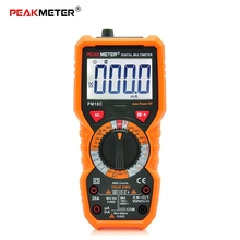 Digital Multimeter New Multimetro Voltage Current Resistance Tester Capacitance Frequency Temperature hFE NCV diagnostic-tool