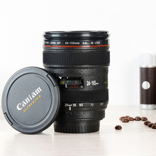 creative design Camera cups Advertising Cup home office Leisure Drinkware black color capacity 400ml ABS material freeshipping(China)