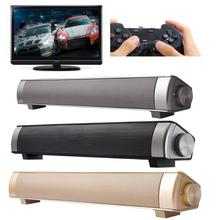 USB TV Home Theater Sound bar Bluetooth Sound Bar Speaker System w/Built-in Subwoofer