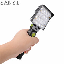 16 LED Flashlight Working Inspection Torch Lamp 4-modes Repairing Warning Camping hanging Light With Magnet and Hook(China)
