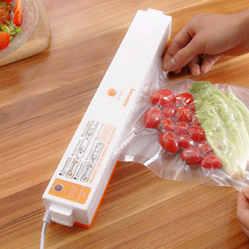 Automatic Electric Vacuum Packing Machine Food Vacuum Sealer Bags Machine Portable Household Vacuum Packing Machine For Home<br>