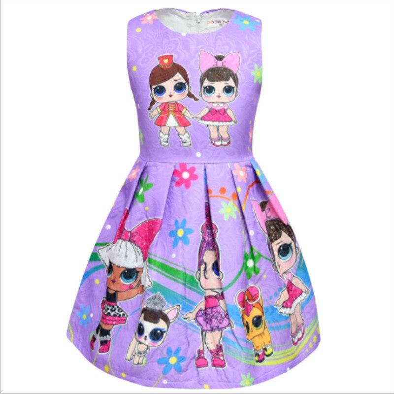 New LOL Surprise Doll Girl Birthday Dress Cute Princess Dress