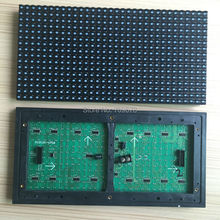 P10 Outdoor Blue Color Dip Led Display Module 32x16 Dots, Waterproof P10 Blue Led Module For Scrolling Message Signboard