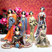 Southeast Asian style ornaments beauty Japanese geisha Ladies Club hotel restaurant home furnishings soft furnishings