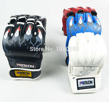 Half Finger Boxing Gloves Sanda Fighting Sandbag MMA gloves G19741