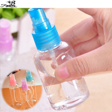 Color send randomly !!! 1 x 100ml Travel Transparent Small Empty Plastic Perfume Atomizer Spray Bottle(China)