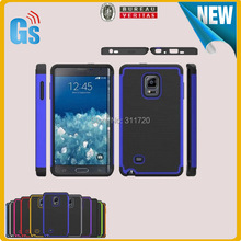 Alibaba Stock Lot Price Football Skin Mesh Protective Skin Hybrid Combo Case For Samsung Galaxy Note Edge N9150(China)