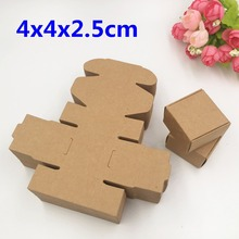 Buy 100PCS Kraft Gift Boxes Paper Handmade Soap Box Blank Candy Boxes DIY Packaging Boxes Storage Jewelry/Cake/Candy/Gift/Crafts for $15.01 in AliExpress store