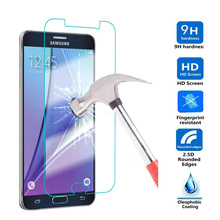 2.5D 9H Screen Protector Tempered Glass For Samsung Galaxy J1 mini J3 A3 A5 A7 2016 S3 S4 S5 S6 S7 Grand Prime J5 Note 3 4 5