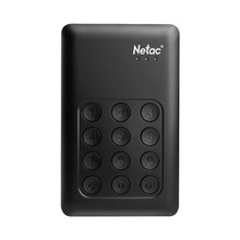Netac Independent Keypad Lock external hard drive 1TB 500G USB3.0 HDD K390 AES 256-bit Hardware Encryption Hard Disk(China)
