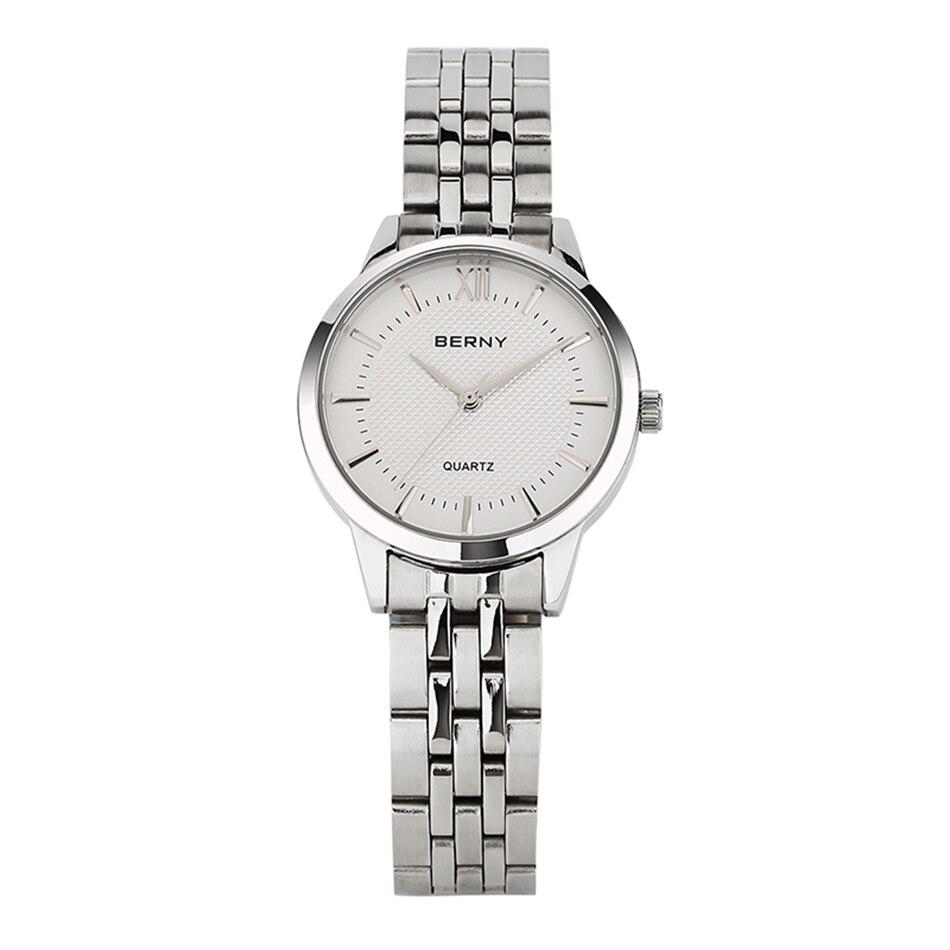 Berny Women Watch Quartz Lady Watches Fashion Top Brand Luxury Relogio Saat Montre Horloge Feminino Bayan Femme JAPAN MOVEMENT<br>
