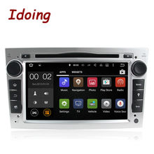 Idoing2Din Steering-Wheel Android For Opel Vectra Corsa D Astra H Car DVD Multimedia Video Radio Player GPS Navigation Quad Core