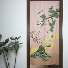 Animal Printted Hot Sale Partition Fashion Scenery Curtain for Door Kitchen Cabinet Door A-108(China)