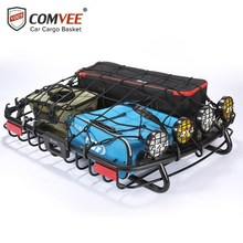 COMVEE Universal Car Roof Rack Cross Bar for Auto SUV Offroad Cargo Luggage Carrier Load 100KG