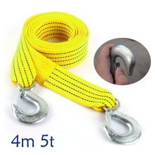 FULL WERK 4m 5tons Tow Rope Trailer Rope Traction Rope Nylon Force Trailer Rope Strap 1PC