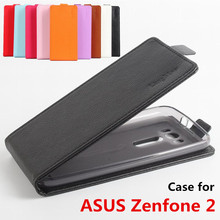 Litchi Grain High Quality Luxury Leather Cases For Asus Zenfone 2 Laser ZE500KL Case Flip Housing Zenfone2 ZE 500 KL Cover