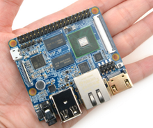 Four Nuclear A9  Open Source And Artifact square NanoPi - M2, 4418 development board, 1 GB of ,Memory Gigabit Nics
