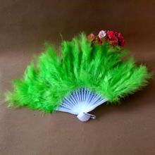 Hot-sell! Free shipping 70pcs/lot assorted colors decorative feather fan,decoration hand fan
