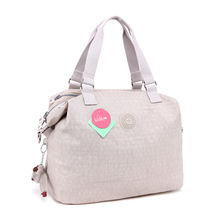 water resistant nylon ladies handbag monkey women's shoulder bag (HB15-04)(China)