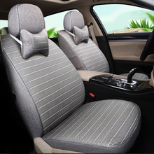 Buy Car Seat Cover Linen Auto Seat Covers Cars Cushion Set Kia Sportage 2014 2013 2012 2011 2008 2007 Accessories Car Seats for $298.00 in AliExpress store
