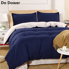 Simple Soft Shuangpin Four piece suit Three piece suit Comfortable Bedding Set Bed Sheet and Quilt Cover Pillowcase 26 Colour