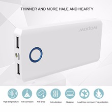 Buy Wopow 10000mAh Power bank Fast Charging Large Capacity Powerbank Portable Charger Dual USB Charging Port External Battery for $18.56 in AliExpress store