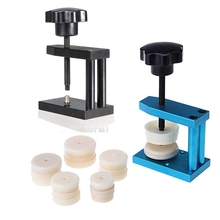 Hot Selling 12 Dies Watch Crystal Front Back Case Cover Screw Press Presser Close Watchmakers Repair Kit Tools(China)