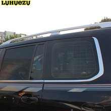 Luhuezu Aluminum Alloy Roof Racks Roof Bar For Toyota Land Cruiser 200 LC 200 2008-2017 Accessories(China)