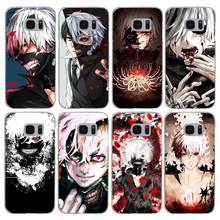 H382 Anime Tokyo Ghoul Kaneki Ken Transparent Hard PC Case Cover For Samsung Galaxy S 3 4 5 6 7 8 Mini Edge Plus Note 3 4 5 8(China)