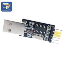 CH340 module USB to TTL CH340G upgrade download a small wire brush plate STC microcontroller board USB to serial(China)