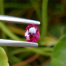 0.89 carat Natural Colourful Purple Pink Ruby Loose Stone GIL Certificate(China)