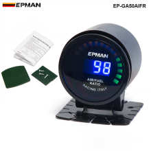 "New Epman Racing 2"" 52mm Digital Color Analog LED Air / Fuel Ratio Monitor Racing Gauge For BMW MINI COOPER S EP-GA50AIFR(China)"