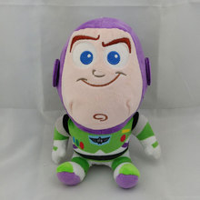"Juguetes figma Toy Story 3 Brinquedo 20cm 8"" Buzz Woody Jessie Little Green Alien Figure Soft Plush Doll kids Toys For girls(China)"