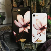 Buy Kerzzil Luxury Stereo Relief Narcissus Flower iPhone 7 6 6S Plus Soft Silicone Floral Cover Back iPhone X 6 6S 8 Plus for $1.89 in AliExpress store
