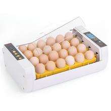 24-Eggs Intelligent Automatic Egg Incubator Temperature Control Hatcher for Hatching Chicken Duck Bird Quail Poultry AC110-220V(China)