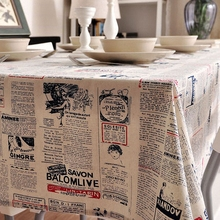 2017 New Arrival Table Cloth English Fonts High Quality Lace Tablecloth Decorative Elegant Table Cloth Linen Table Cover(China)