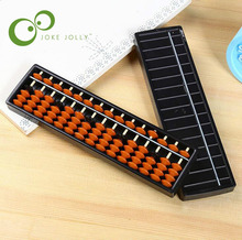 Rods Abacus Soroban Beads Column Kid School Learning Aid Tool Math Business Chinese Traditional abacus Educational toys GYH