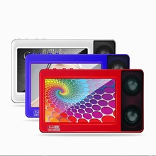 HD Touch Screen MP4 Player 8gb Build-in Two Speakers 4.3 Inch Screen FM Radio MP4 Music Player Support TV Out Recorder E-Book