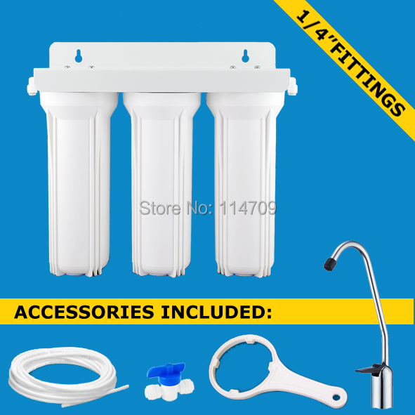 Design Your Own Three Stages Undersink Water Filter Systems<br>