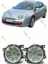 lamps For RENAULT MEGANE 3/III Saloon  2009-2014  car styling led  Refit fog lights    12V  2 PCS  White  Yellow